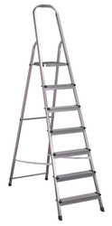 Sealey ASL7 Aluminium Step Ladder 7-Tread EN 131