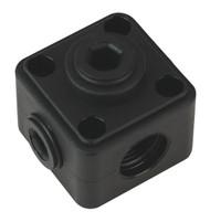 "Sealey CASPB Porting Block 5 x 1/2""BSP Connection"
