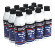 Sealey HJO/500ML Hydraulic Jack Oil 500ml Pack of 12