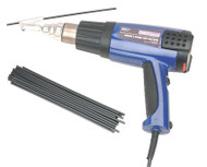 Sealey HS102K Plastic Welding Kit including HS102 Hot Air Gun
