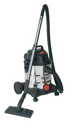 Sealey PC200SD Vacuum Cleaner Industrial Wet & Dry 20ltr 1250W/230V Stainless Drum