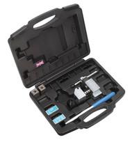 """Sealey PFT/02 Brake Pipe Flaring Kit 3/16"""" SAE, 4.75mm DIN"""