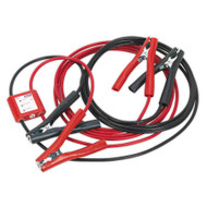 Sealey PROJ/12 Booster Cables 5mtr 400Amp 20mm_ with 12V Electronics Protection
