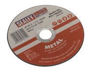 Sealey PTC/100CET Cutting Disc åø100 x 1.2mm 16mm Bore