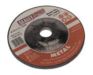 Sealey PTC/100G Grinding Disc åø100 x 6mm 16mm Bore