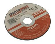 Sealey PTC/115C Cutting Disc åø115 x 3mm 22mm Bore