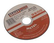 Sealey PTC/115CET Cutting Disc åø115 x 1.2mm 22mm Bore