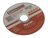 Sealey PTC/115CT Cutting Disc åø115 x 1.6mm 22mm Bore
