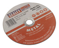 Sealey PTC/180C Cutting Disc åø180 x 3mm 22mm Bore