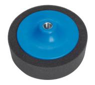 "Sealey PTC/CH/5/8-P Buffing & Polishing Foam Head åø150 x 50mm 5/8""UNC Black/Soft"