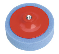 Sealey PTC/CH/M14-B Buffing & Polishing Foam Head åø150 x 50mm M14 x 2mm Blue/Medium