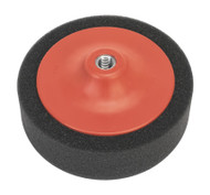 Sealey PTC/CH/M14-P Buffing & Polishing Foam Head åø150 x 50mm M14 x 2mm Black/Soft