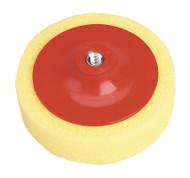 Sealey PTC/CH/M14-Y Buffing & Polishing Foam Head åø150 x 50mm M14 x 2mm Yellow/Coarse