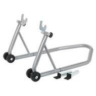 Sealey RPS1 Universal Rear Wheel Stand with Rubber Supports and Bobbin Supports