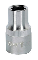 "Sealey S1211 WallDriveå¬ Socket 11mm 1/2""Sq Drive"