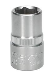 "Sealey S1214 WallDriveå¬ Socket 14mm 1/2""Sq Drive"