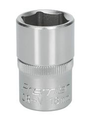 "Sealey S1218 WallDriveå¬ Socket 18mm 1/2""Sq Drive"