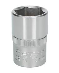 "Sealey S1219 WallDriveå¬ Socket 19mm 1/2""Sq Drive"