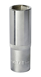 "Sealey S1219D WallDriveå¬ Socket 19mm Deep 1/2""Sq Drive"