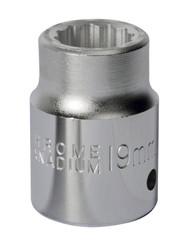 "Sealey S34/19 WallDriveå¬ Socket 19mm 3/4""Sq Drive"
