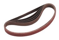 Sealey SA355/B80G Sanding Belt 20 x 520mm 80Grit Pack of 5