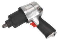 "Sealey SA602 Air Impact Wrench 1/2""Sq Drive Twin Hammer"