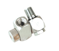 "Sealey SA900 Z-Swivel Air Hose Connector with Regulator 1/4""BSP"