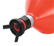 Sealey SOLV/SFU Solvent Safety Funnel with Universal Drum Adaptor