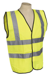 Sealey SSPHV-L High Visibility Waistcoat BS EN 471 Large