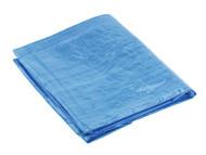Sealey TARP1012 Tarpaulin 3.05 x 3.66mtr Blue