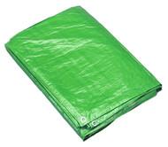 Sealey TARP68G Tarpaulin 1.73 x 2.31mtr Green