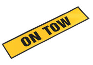 "Sealey TB01T Magnetic Sign ""ON TOW"""