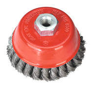 Sealey TKCB100 Twist Knot Wire Cup Brush åø100mm M14 x 2mm