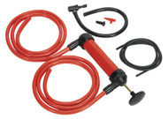 Sealey TP50 Multipurpose Syphon & Pump Kit