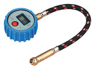 Sealey TST/PG981 Tyre Pressure Gauge Digital with Leader Hose & Quick Release