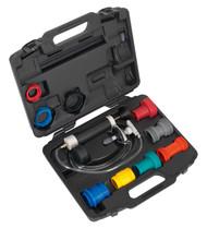 Sealey VS0031 Cooling System & Cap Testing Kit