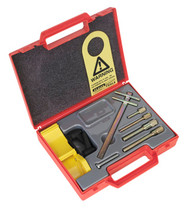 Sealey VS122 Diesel/Petrol Setting/Locking Kit - Mitsubishi, Renault, Vauxhall/Opel, Volvo - Belt Drive
