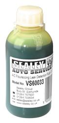 Sealey VS60033 Air Conditioning Fluorescing Leak Detection Dye - 33 Dose Bottle