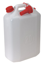 Sealey WC20 Water Container 20ltr with Spout