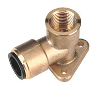 "Sealey CAS22BWE Wingback Elbow 22mm x 3/4""BSP Brass"