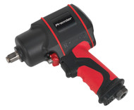 "Sealey SA6002 Air Impact Wrench 1/2""Sq Drive Twin Hammer"