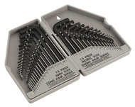 Siegen S0484 Hex Key Set 30pc Long/Short Arm - Metric/Imperial