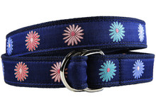 Classic Flower Ladies Ribbon Belt