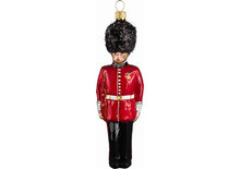 British Guard Glass Christmas Ornament
