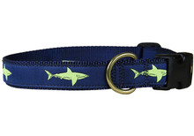 Shark Collar and Leash (Lime)