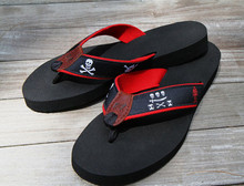 Pirate Flags Flip Flops