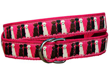 Three Labs Ladies Ribbon Belt