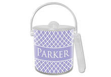 Chelsea Lavender Lucite Ice Bucket