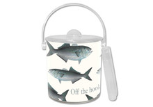 Bluefish Lucite Ice Bucket