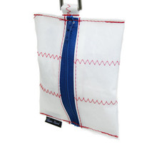 Dog Waste Bag Dispenser in Sailcloth Salty Dog Casco Bay